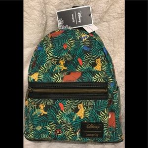 Disney Loungefly Lion King Mini Backpack New NWT!